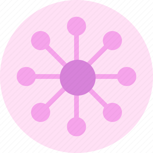 business, network, numbers, strength icon