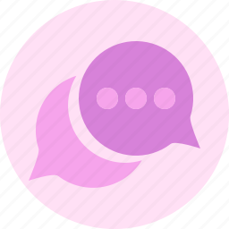 bubble, chat, chatting, message, talk icon