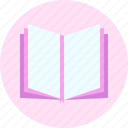book, booklet, document, education, open book icon