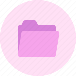 document, file, folder, functions, open icon