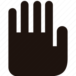 hand, permissions, security icon