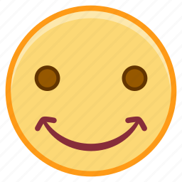chuckle, emofi, emotion, face, smile icon
