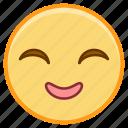 emoji, emotion, face, grin, smile