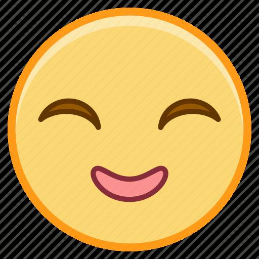 emoji, emotion, face, grin, smile icon