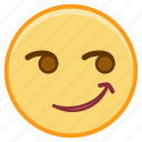 emoji, emoticon, emotion, face, smile, sticker