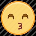 emoji, emotion, face, kiss, talk