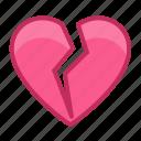 broken, emotion, heart, love, lovesick