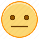 dull, emoji, emoticon, emotion, face, sticker icon