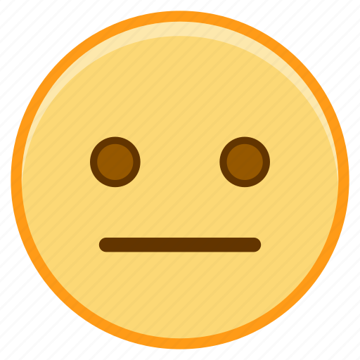 dull, emoji, emoticon, emotion, face, sticker icon