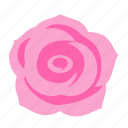 floral, flower, happiness, nature, rose icon