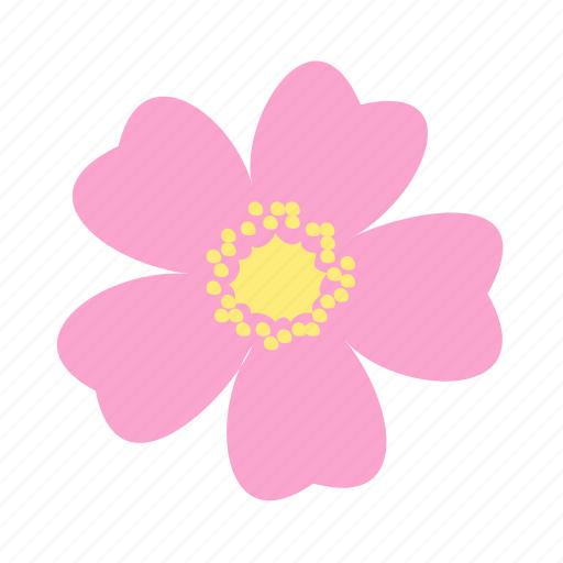 flower, go, happy, lucky, nature, rose, wild icon