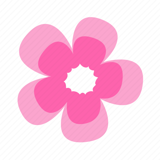 floral, flower, gentility, geranium, nature icon