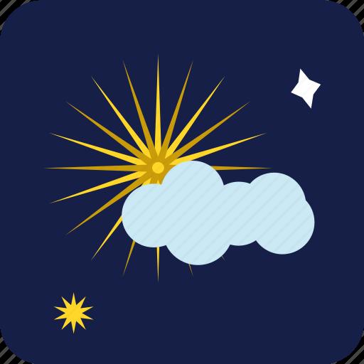 christmas stars, cloud, star, stars, xmas icon