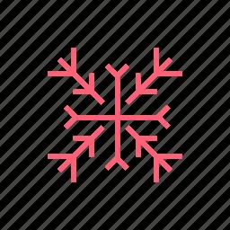 christmas, new year, snowflake, xmas icon