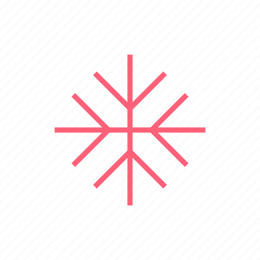 christmas, new year, snowflake, xmas icon
