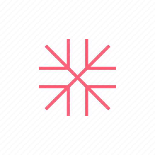 christmas, snowflake, xmas icon