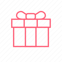 christmas, gift, new year, present icon