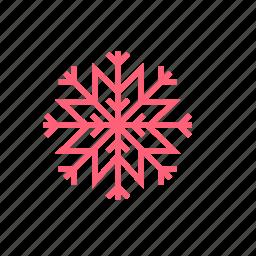 christmas, new year, snowflake, winter, xmas icon