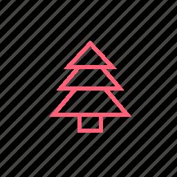 christmas, christmas tree, new year, tree, xmas icon