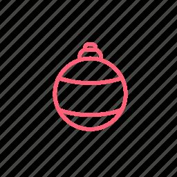 ball, christmas, christmas ball, christmas decorations, xmas icon