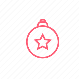 ball, christmas, decorations icon