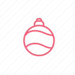 ball, christmas, decoration, new year, xmas icon