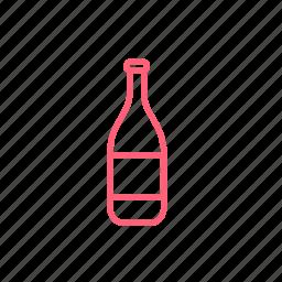 bottle, christmas, new year, xmas icon