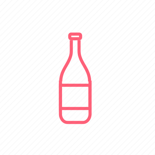 bottle, christmas, new year, xmas icon