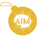 aim, ball, christmas icon