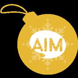 aim, ball, christmas icon
