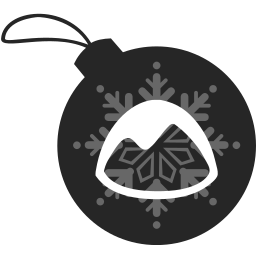 ball, basecamp, christmas icon