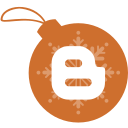 ball, blogger, christmas icon
