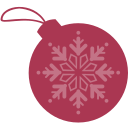 ball, christmas, dribbble icon