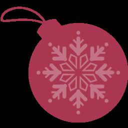 ball, christmas, dribbble icon