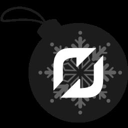 ball, christmas, flattr icon