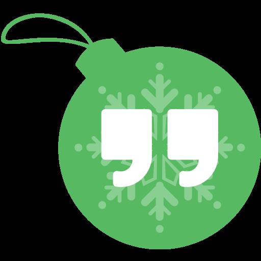 ball, christmas, google, hangout icon