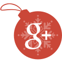 ball, christmas, google, plus icon
