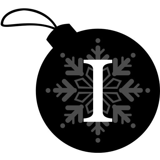ball, christmas, instapaper icon