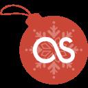 ball, christmas, fm, last icon