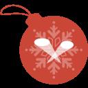 ball, christmas, limelight icon