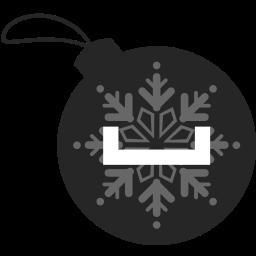 ball, christmas, myspace icon