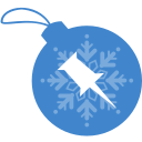 ball, christmas, pinboard icon