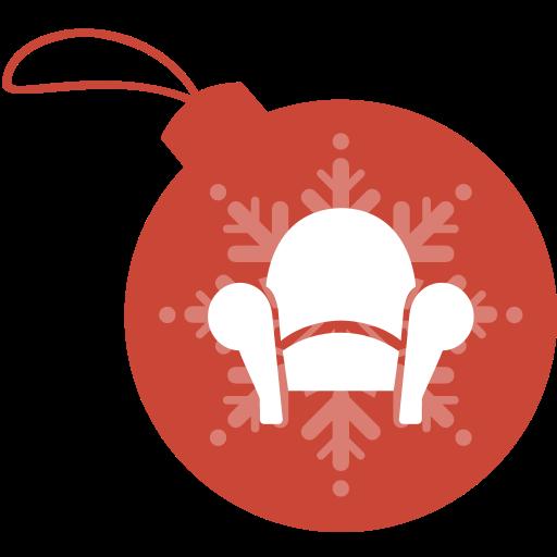ball, christmas, readability icon