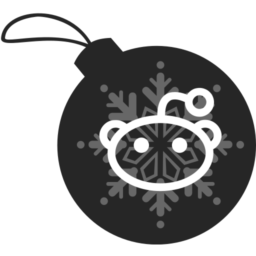 ball, christmas, reddit icon