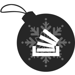 ball, christmas, stackoverflow icon