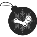 ball, christmas, steam icon