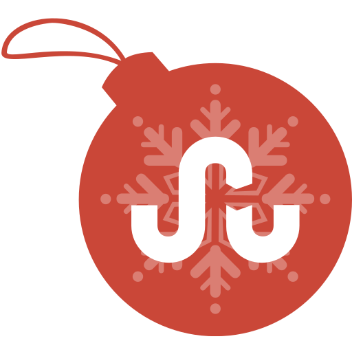 ball, christmas, stumble, upon icon