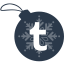 ball, christmas, tumblr icon