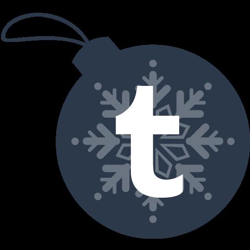 ball, christmas, tumblr icon