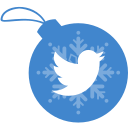 ball, christmas, twitter icon